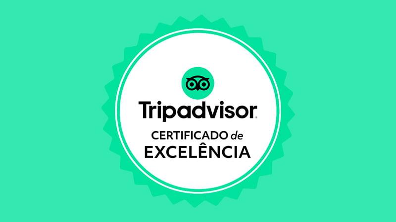certificado de excelencia no tripadvisor